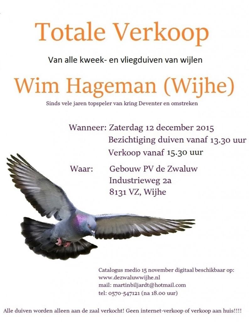 Poster Wim Hageman